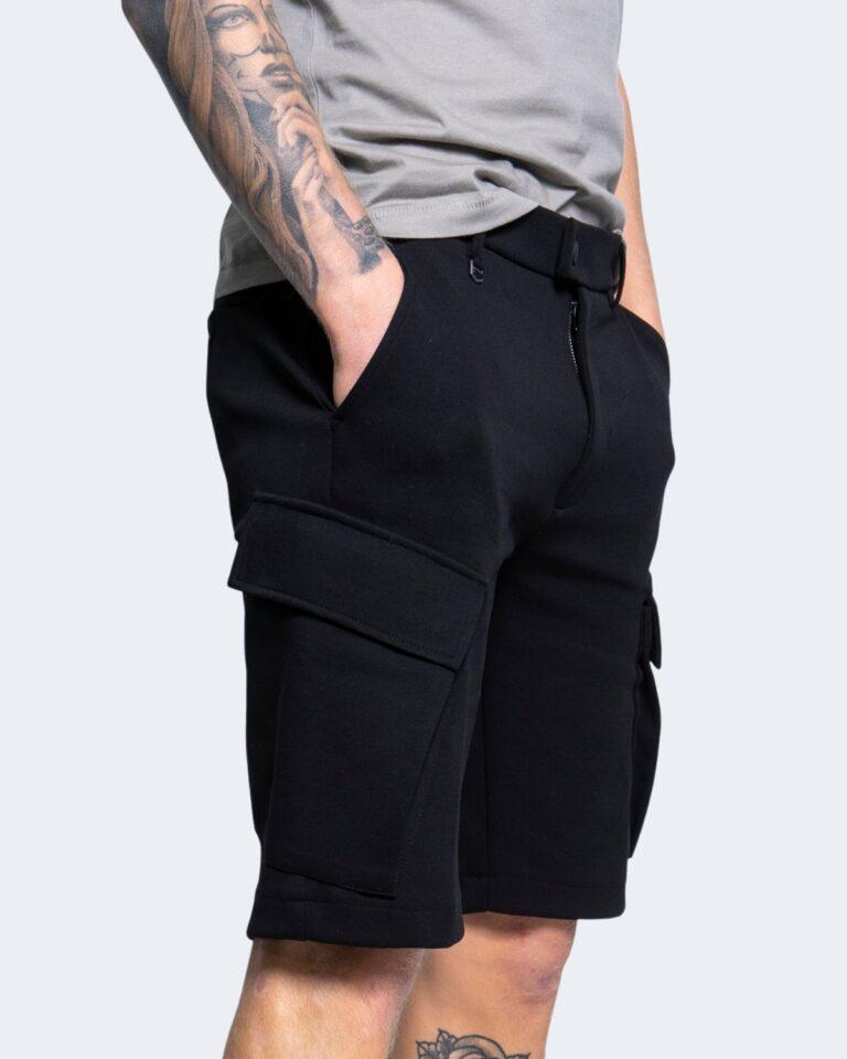 Shorts Antony Morato FELPA SLIM Nero - Foto 2