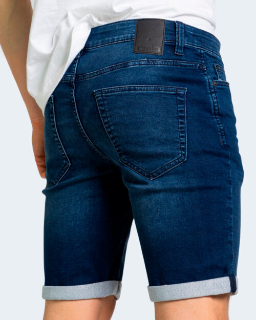 Shorts Only & Sons PLY Blue Denim - Foto 3