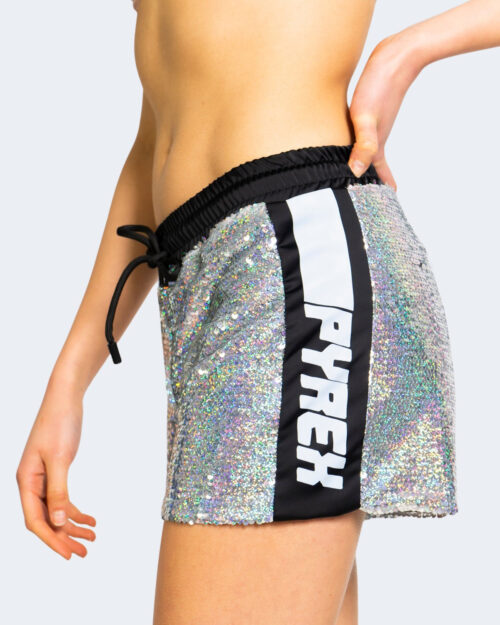 Shorts Pyrex PAILLETTES Argento – 68003
