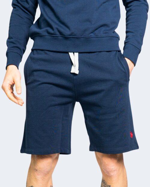 Shorts U.s. Polo Assn. TRICOLOR FLEEC Blu – 67806