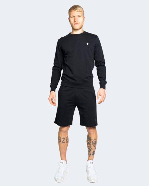 Shorts U.s. Polo Assn. TRICOLOR FLEEC Nero – 67806