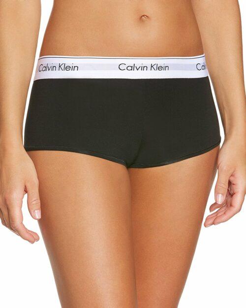 Calvin Klein Underwear Women Boyshort Nero - Foto 1
