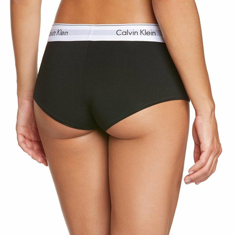 Calvin Klein Underwear Women Boyshort Nero - Foto 2
