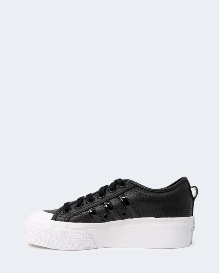 Sneakers Adidas NIZZA PLATFORM Nero - Foto 2