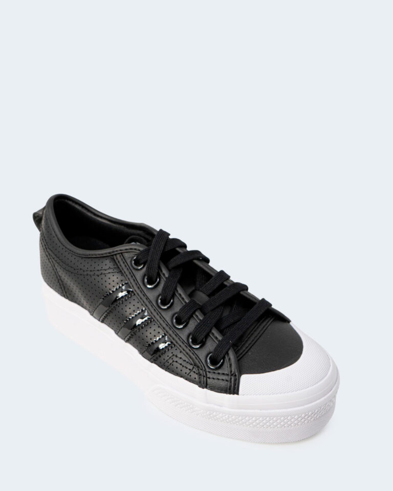 Sneakers Adidas NIZZA PLATFORM Nero - Foto 3