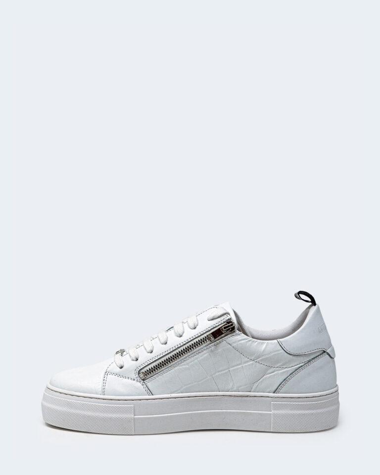 Sneakers Antony Morato ZIPPER IN PELLE STAMPA Bianco - Foto 2