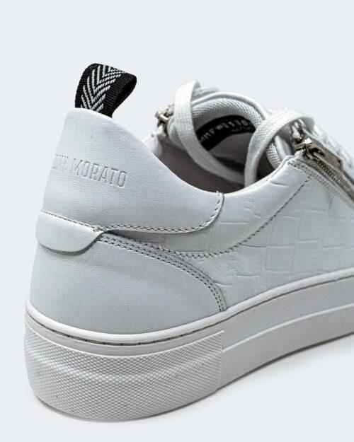 Sneakers Antony Morato ZIPPER IN PELLE STAMPA Bianco - Foto 3