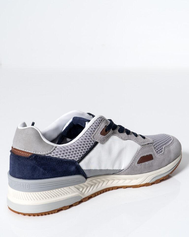 Sneakers Antony Morato Running Treck Grigio Chiaro - Foto 3