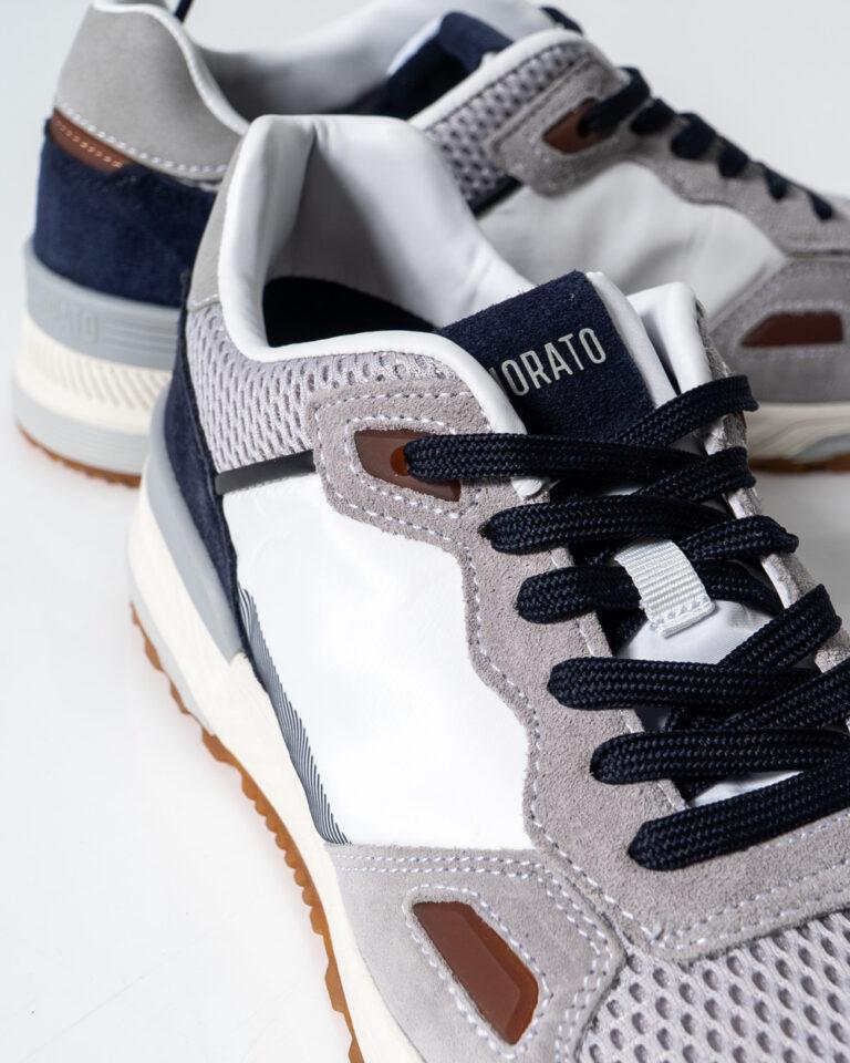 Sneakers Antony Morato Running Treck Grigio Chiaro - Foto 4
