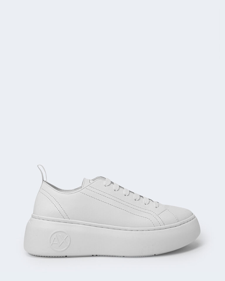 Sneakers Armani Exchange ACTION LEATHER Bianco - Foto 1