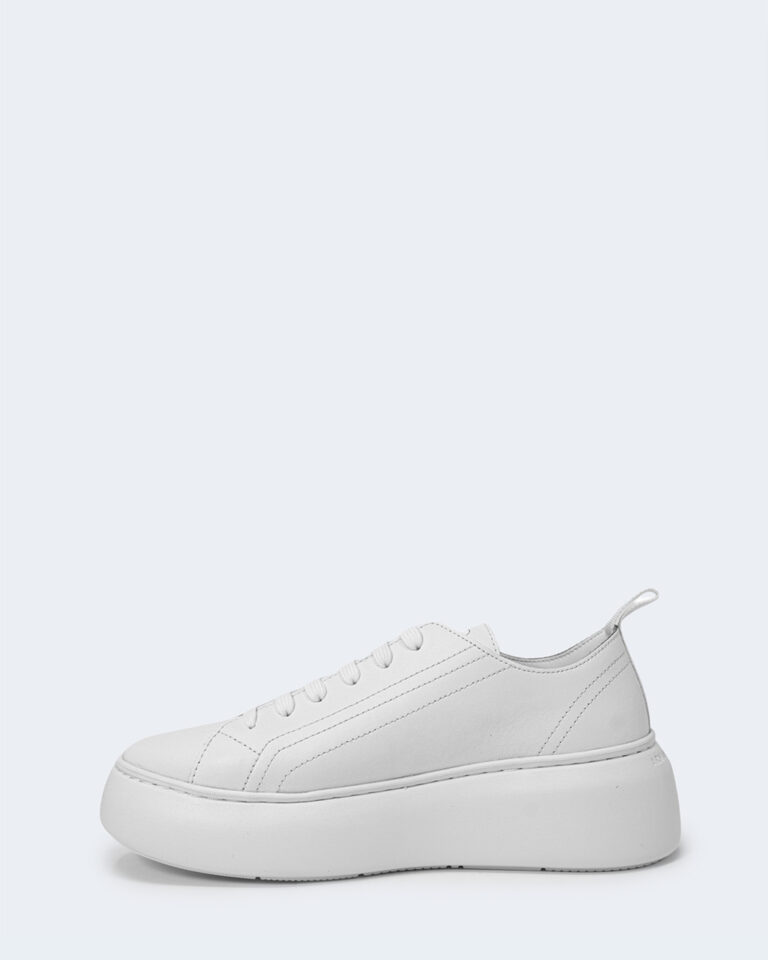 Sneakers Armani Exchange ACTION LEATHER Bianco - Foto 2