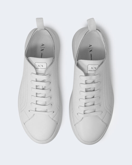 Sneakers Armani Exchange ACTION LEATHER Bianco - Foto 3
