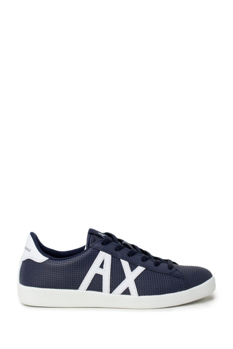Sneakers Armani Exchange ACTION LEATHER Blu - Foto 1