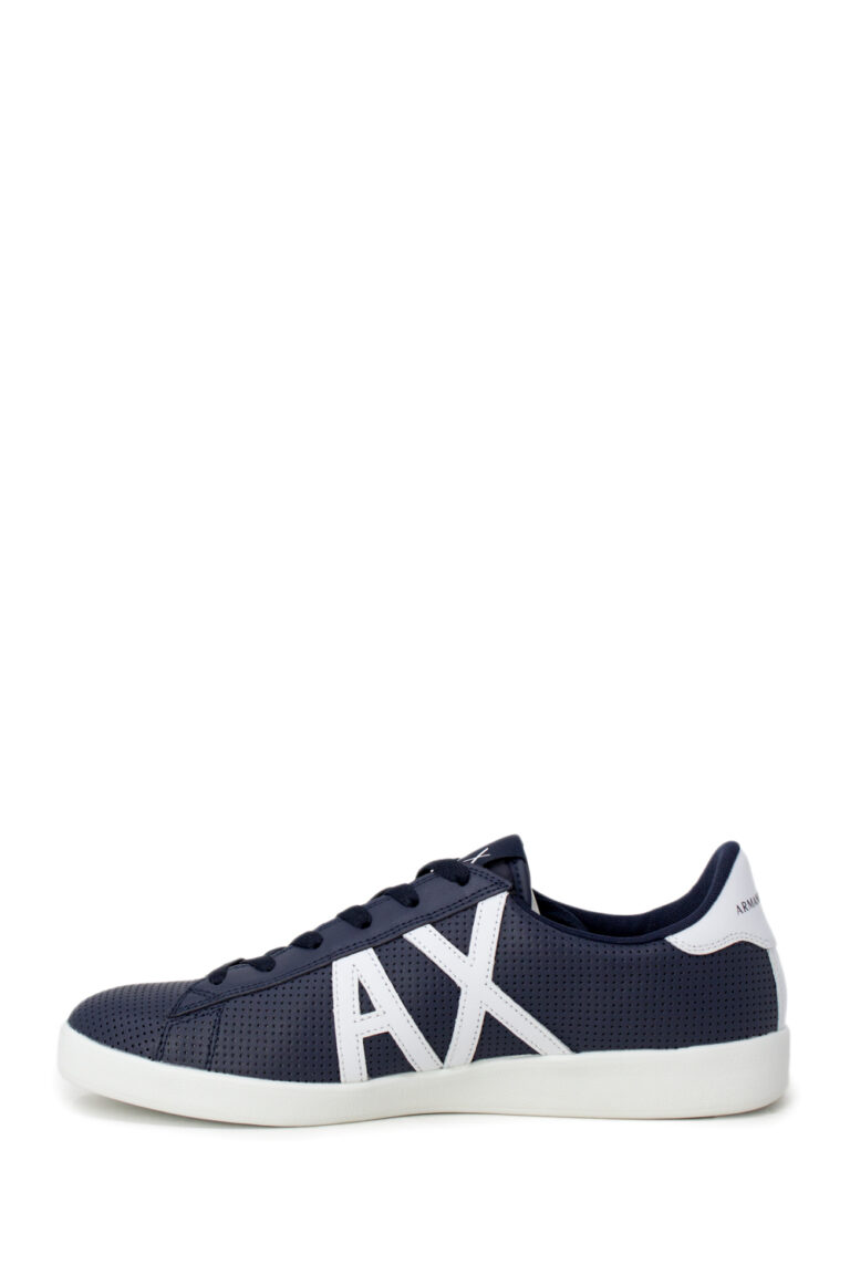 Sneakers Armani Exchange ACTION LEATHER Blu - Foto 2