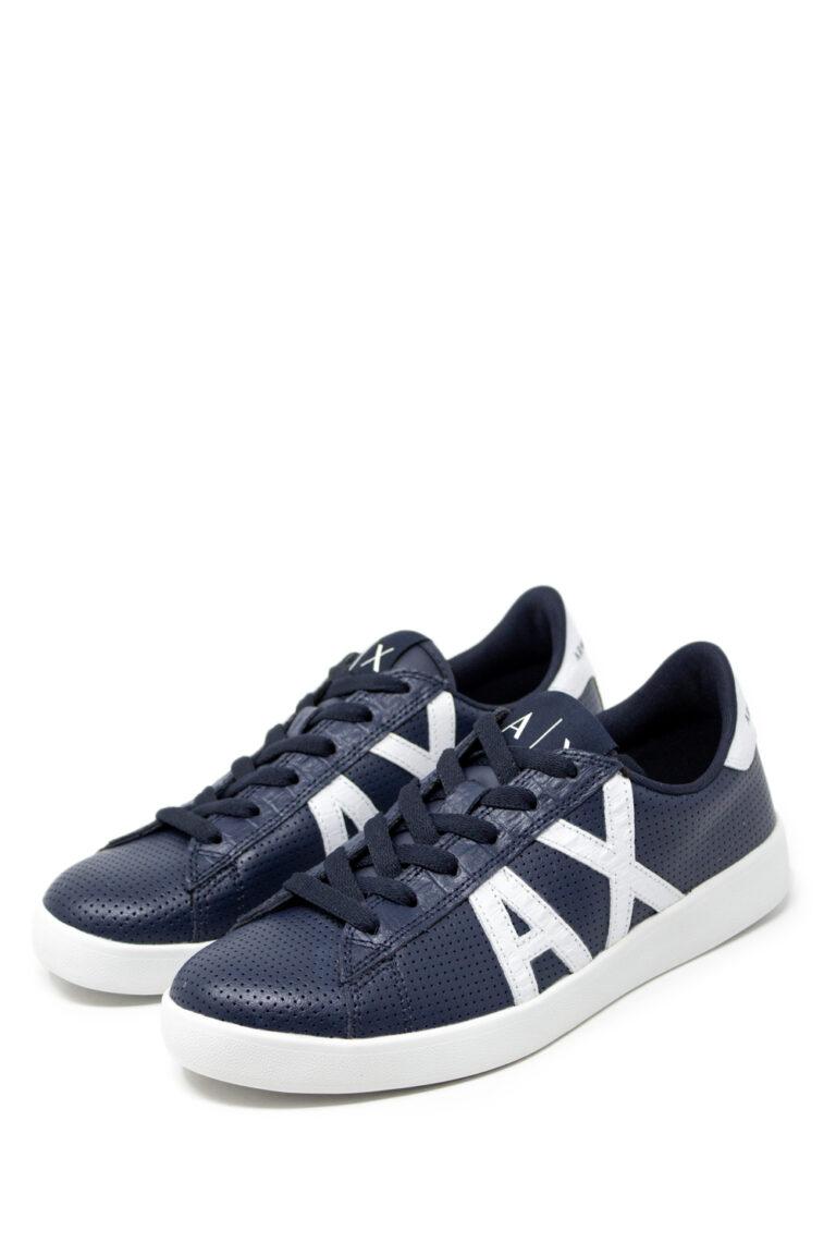 Sneakers Armani Exchange Action Blue scuro - Foto 1