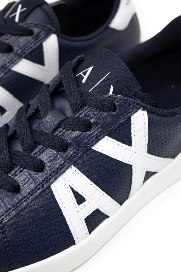 Sneakers Armani Exchange Action Blue scuro - Foto 2