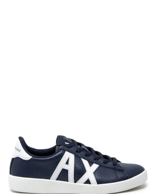 Sneakers Armani Exchange Action Blue scuro - Foto 3