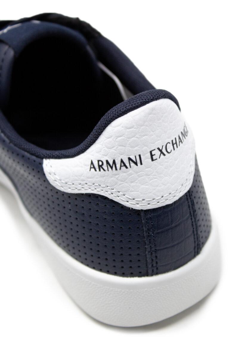 Sneakers Armani Exchange Action Blue scuro - Foto 4