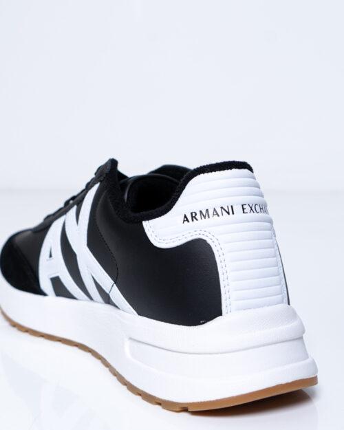 Sneakers Armani Exchange LOGO AX COLOR Nero - Foto 4