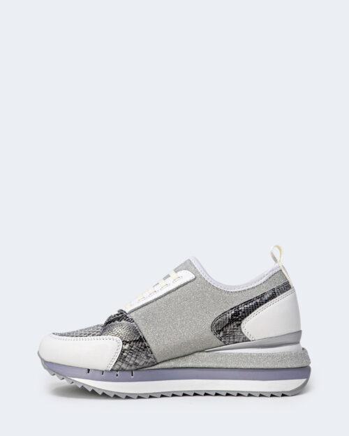 Sneakers Cafè Noir FINTO ALLACCIATO Bianco – 66273