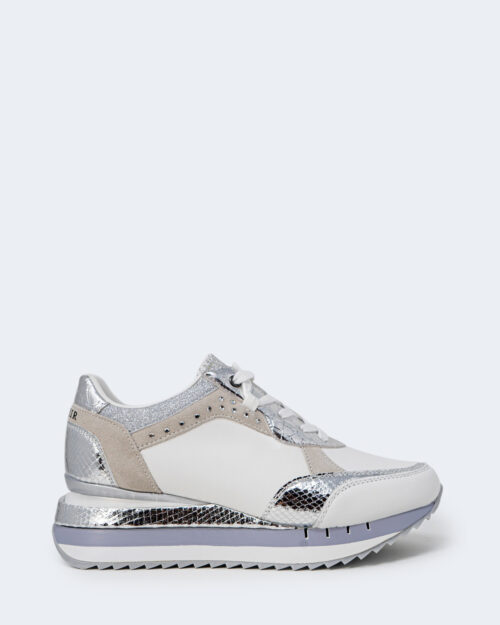 Sneakers Cafè Noir ALLACCIATA IN PELLE Bianco – 66270