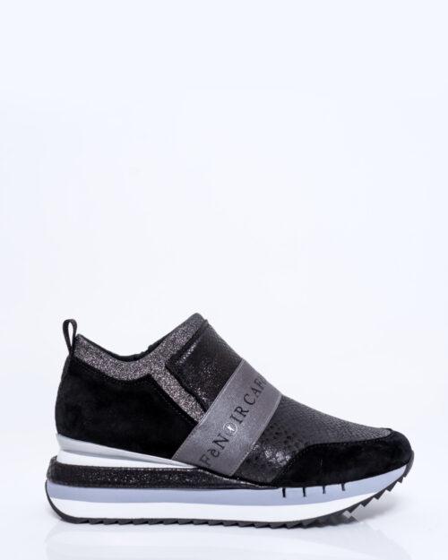 Sneakers Cafè Noir SLIPON CON ELASTICO Nero – 53390