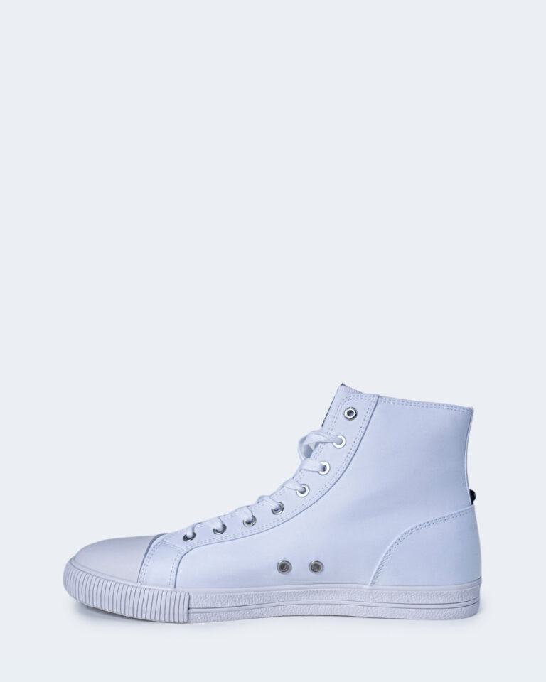 Sneakers Calvin Klein Jeans VULCANIZED HIGH LAC Bianco - Foto 2