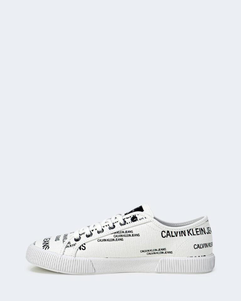 Sneakers Calvin Klein Jeans VULCANIZED Bianco - Foto 2