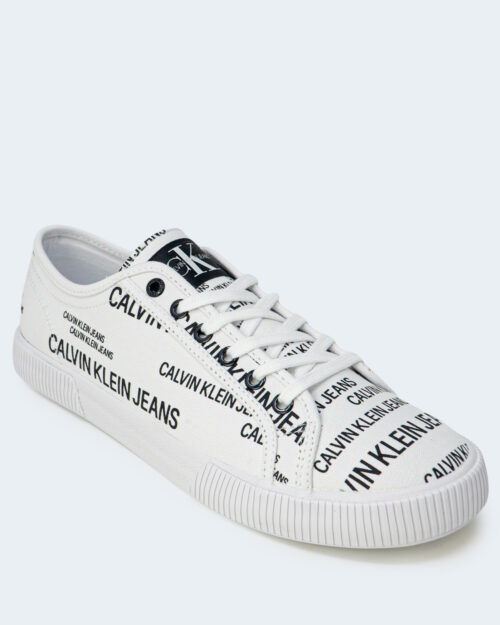 Sneakers Calvin Klein Jeans VULCANIZED Bianco - Foto 3