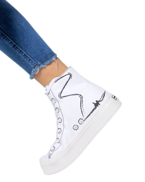 Sneakers Calvin Klein Jeans ZENIA Bianco - Foto 2
