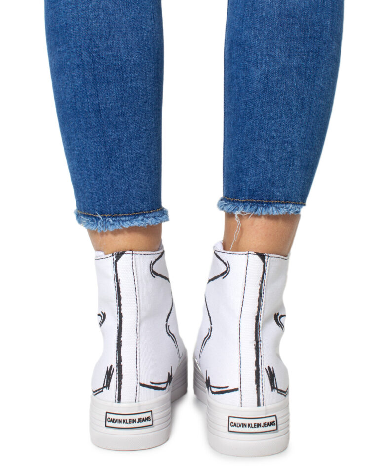 Sneakers Calvin Klein Jeans ZENIA Bianco - Foto 3