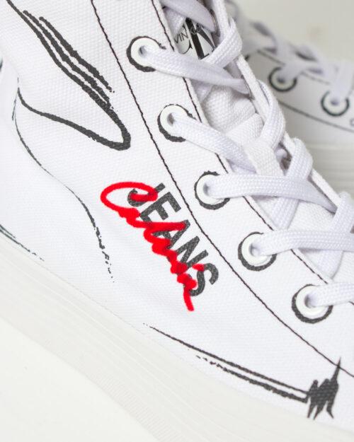 Sneakers Calvin Klein Jeans ZENIA Bianco - Foto 4