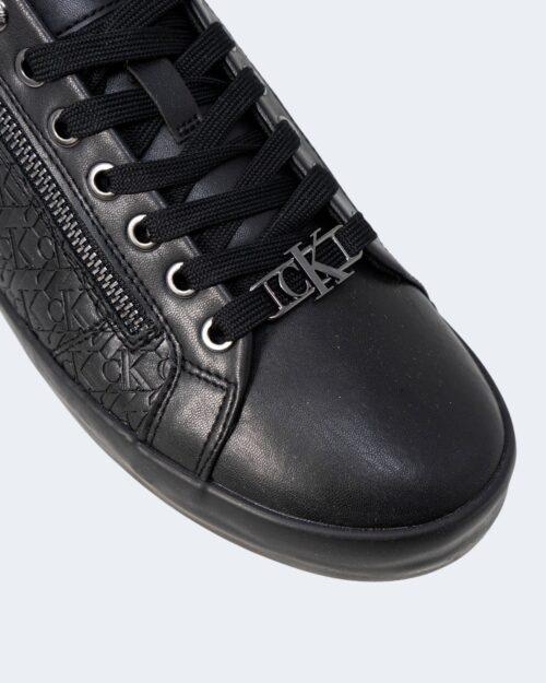 Sneakers Calvin Klein Jeans VULCANIZED LACEUP ZI Nero - Foto 3