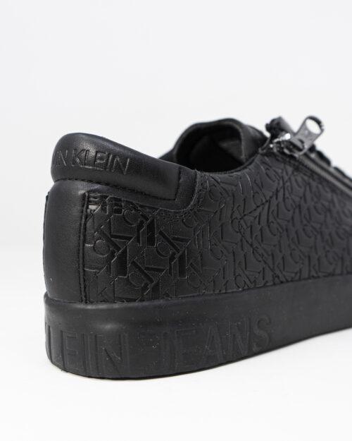 Sneakers Calvin Klein Jeans VULCANIZED LACEUP ZI Nero - Foto 4