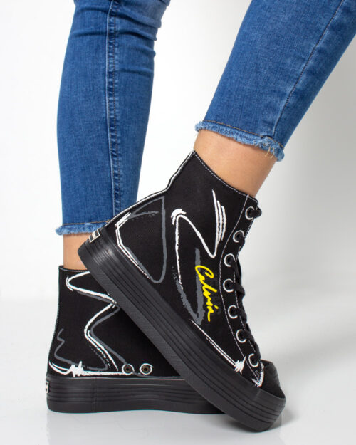 Sneakers Calvin Klein Jeans ZENIA Nero - Foto 1
