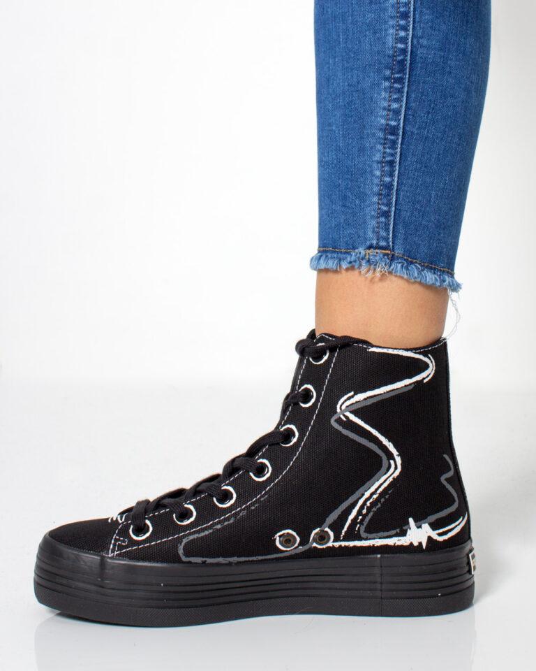 Sneakers Calvin Klein Jeans ZENIA Nero - Foto 2