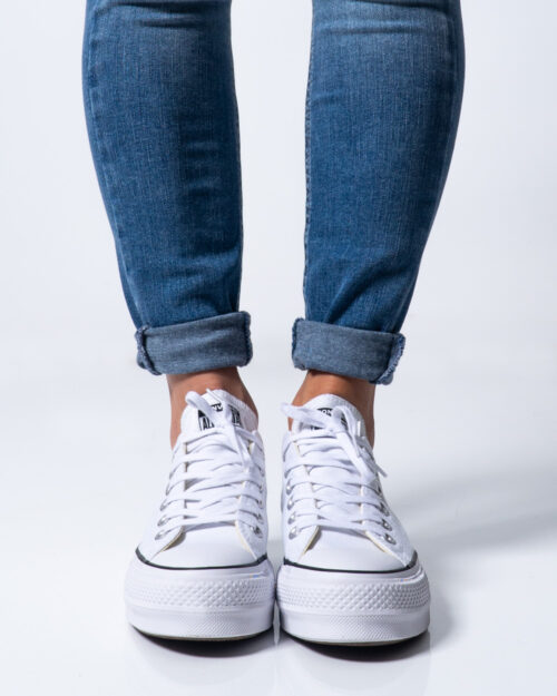 Sneakers Converse PLATFORM  BASSA Bianco – 42630