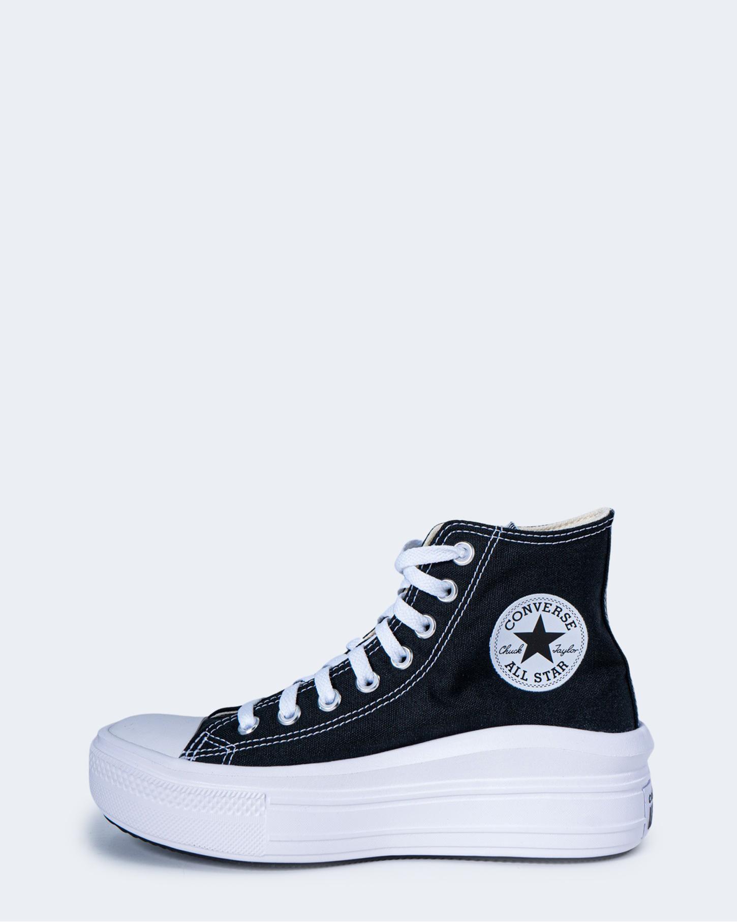 Sneakers Converse CHUCK TAYLOR ALL STAR MOVE Nero - 66913