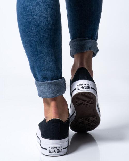 Sneakers Converse PLATFORM  BASSA Nero - Foto 4