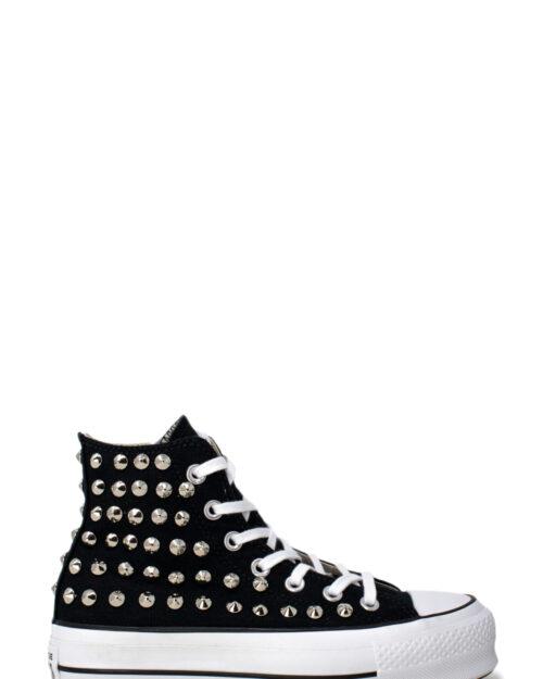 Sneakers Converse PLATFORM PERSONALIZZATA ALTA CON BORCHIE Nero – 28980