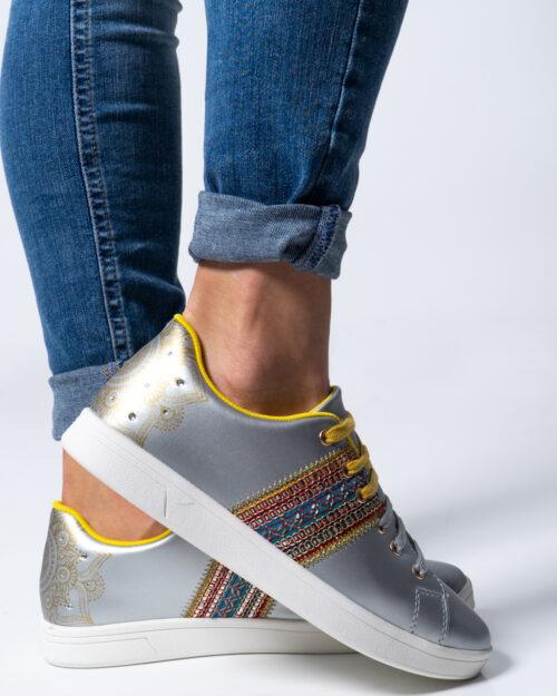 Sneakers Desigual COSMIC EXOTIC MOON Argento – 42513