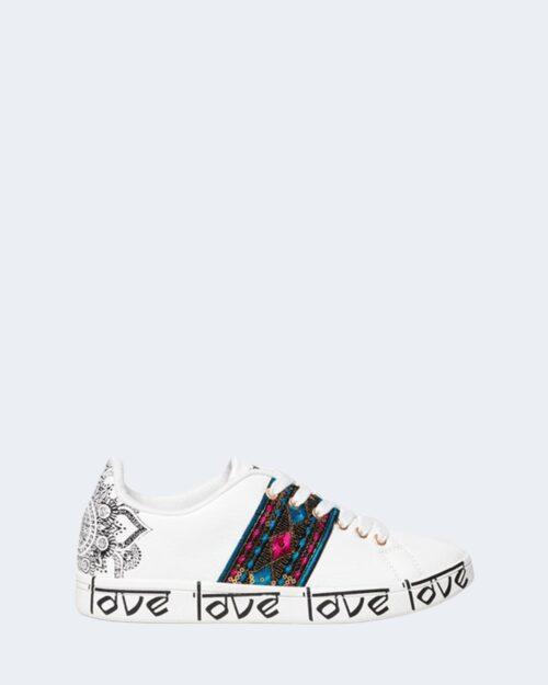 Sneakers Desigual COSMIC EXOTIC Bianco – 66114