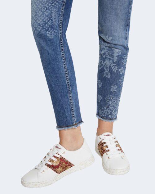 Sneakers Desigual COSMIC EXOTIC LETT Bianco – 66110