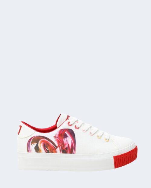 Sneakers Desigual STREET HEART Bianco – 66101