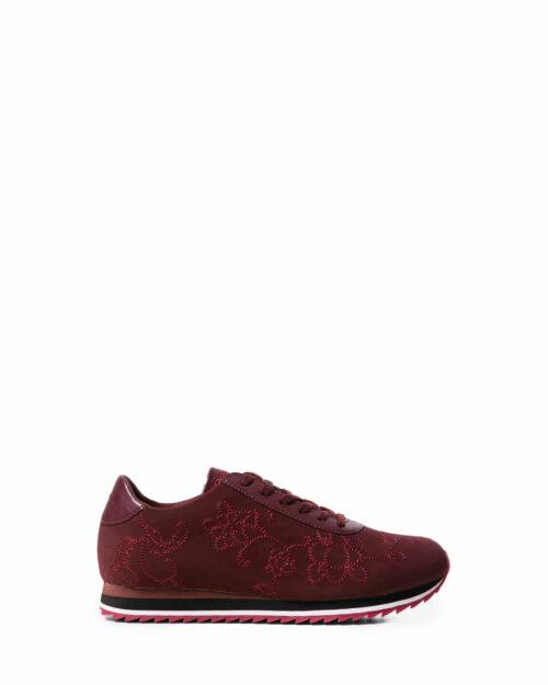 Sneakers Desigual SHOES PEGASO FLORAL CHAIN Bordeaux - Foto 1