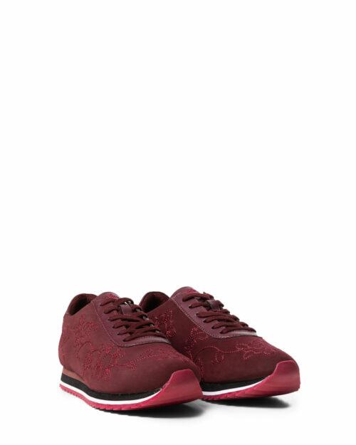 Sneakers Desigual SHOES PEGASO FLORAL CHAIN Bordeaux - Foto 2