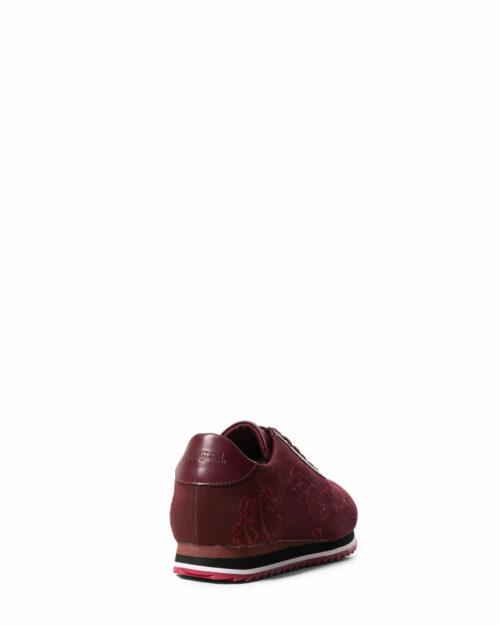 Sneakers Desigual SHOES PEGASO FLORAL CHAIN Bordeaux - Foto 3