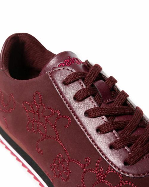 Sneakers Desigual SHOES PEGASO FLORAL CHAIN Bordeaux - Foto 4