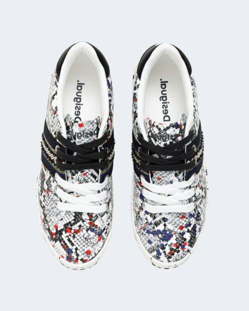 Sneakers Desigual COSMIC SNAKE SPLAT Nero – 66112