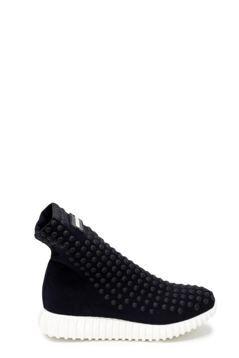 Sneakers Gioselin LIGHT STUDS BLACK CON BORCHIE Nero - Foto 2
